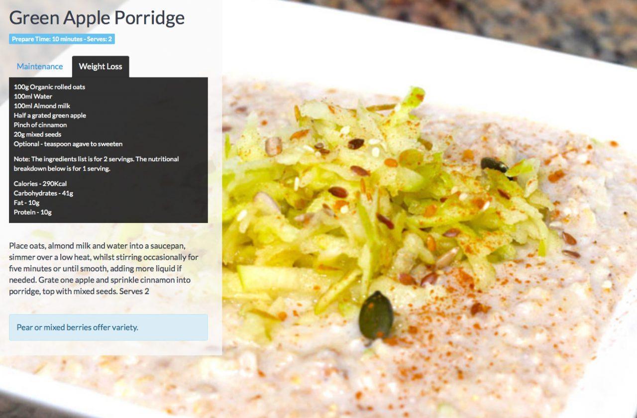 Apple-porridge