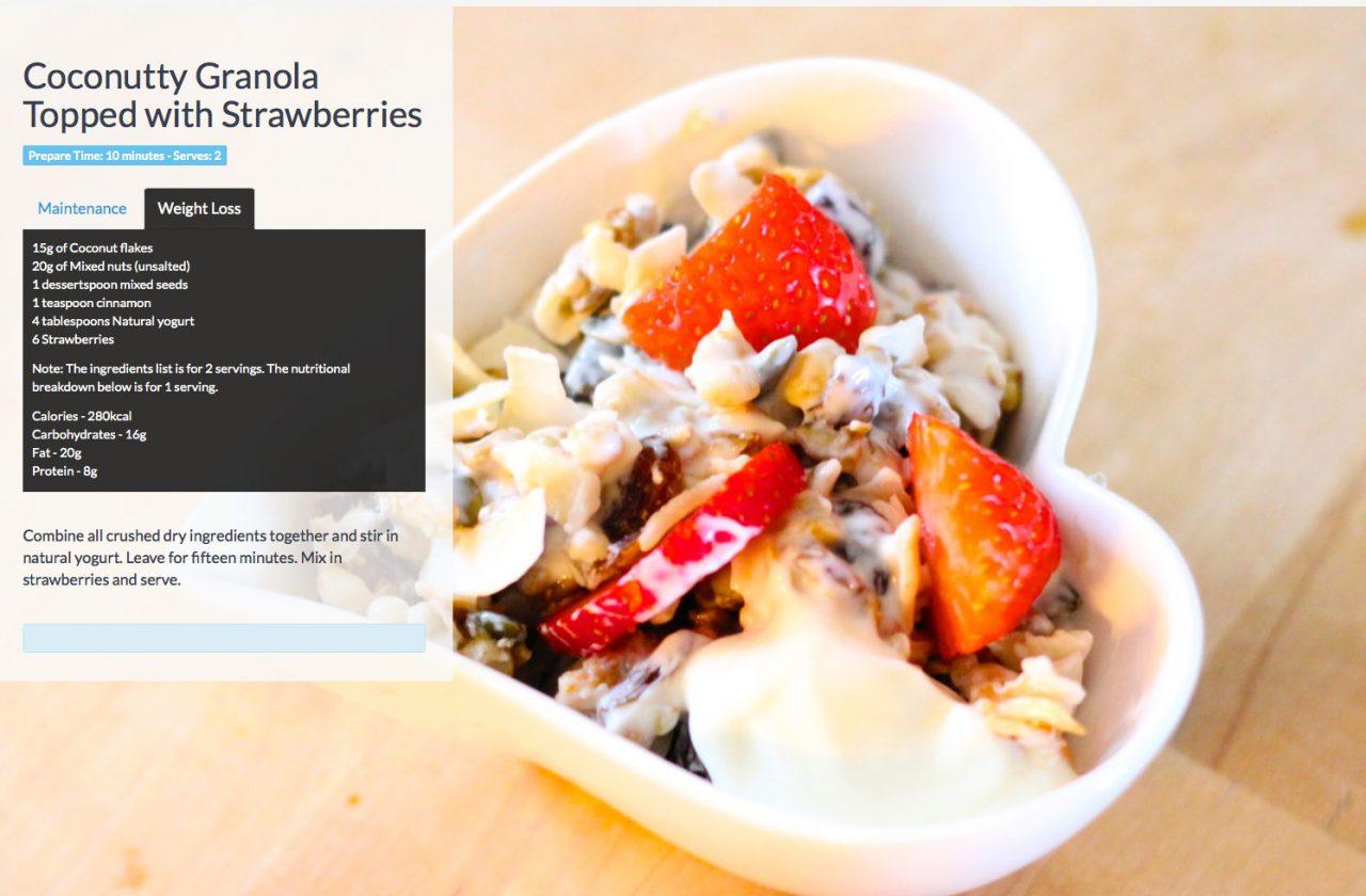 Granola-and-strawberries