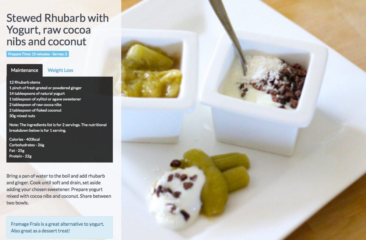Rhubarb-and-yogurt