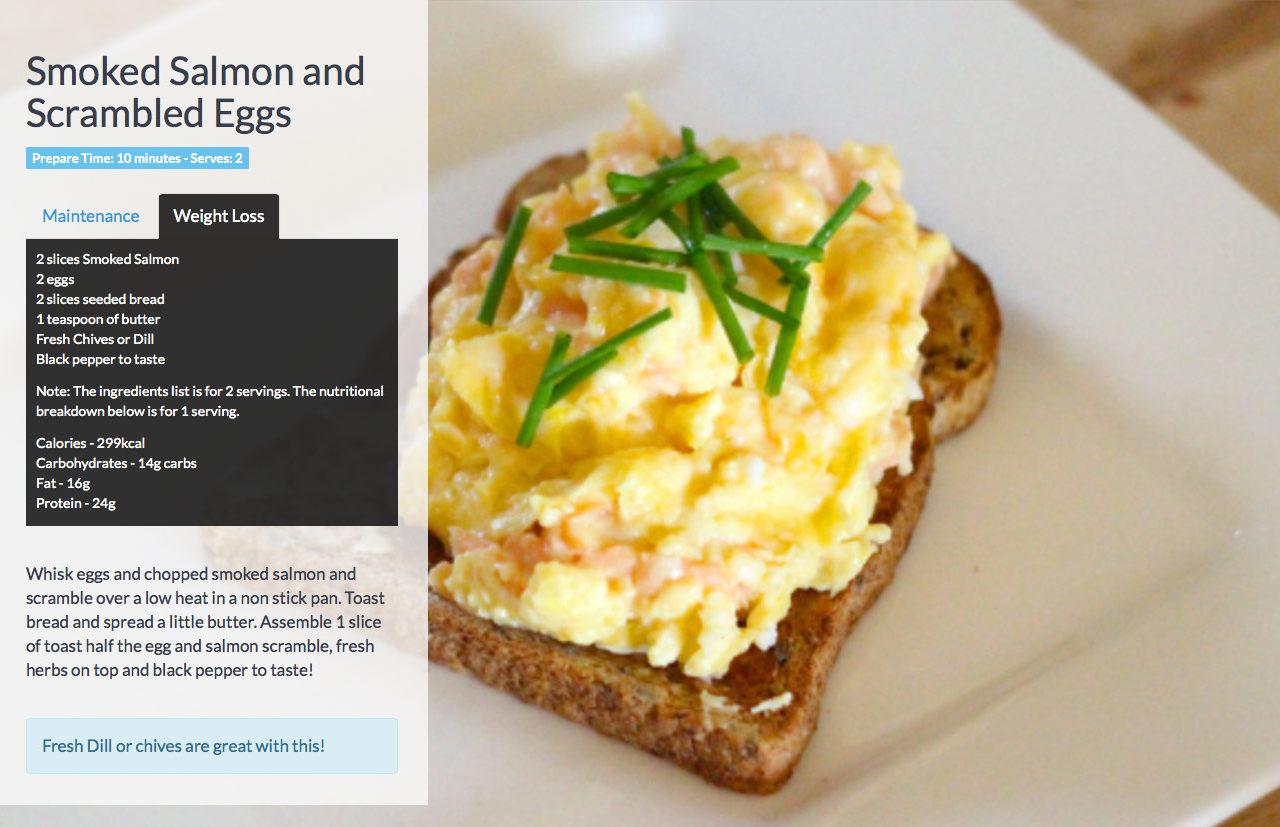 Salmon-and-scrambled-eggs